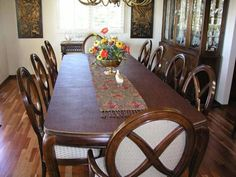 Image Of Dining Table With Dining Table Pad 1501 West Market Street U2022  Indianapolis, IN, 46222 1 800 428 4567 U2022 Www.bergerstablepads.com |  Pinterest ...