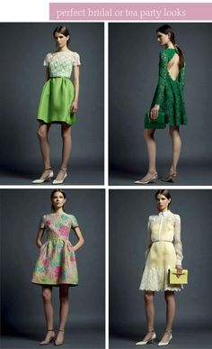 Fashion Friday… Valentino Resort 2013 on http://www.simplynaturalevents.com