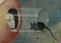 The Garden of Earthly Delights (detail), a triptych painted by Hieronymus Bosch Jan Van Eyck, Robert Campin, Muse Kunst, Pieter Bruegel The Elder, Inspiration Artistique, Arte Tribal, Garden Of Earthly Delights, Muse Art, Dutch Painters