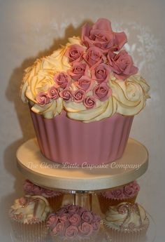 21st Birthday Cupcake Tower by The Clever Little Cupcake Company (Amanda), via Flickr