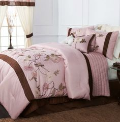 30 best pink and brown bedding ideas