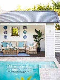 Pool Cabana Designs pool cabana design ideas Home Beautiful May 2014 Cabana Ideaspool Ideasbackyard Ideaspool Cabanaoutdoor Cabanaproject