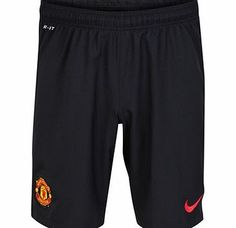 Nike Manchester United Away Shorts 2014/15 611034-010 Manchester United Away Shorts 2014/15These black 2014/15 FC Manchester United Away Shorts feature lightweight, sweat-wicking Dri-FIT fabric to keep you cool, dry and comfortable as the match heats up http://www.comparestoreprices.co.uk/sportswear/nike-manchester-united-away-shorts-2014-15-611034-010.asp