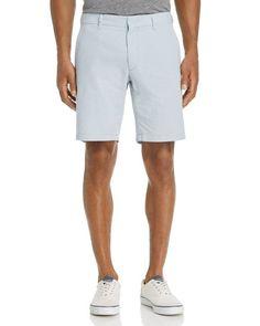 Zachary Prell Gingham Seersucker Shorts