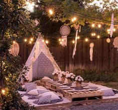Tipi Lace Teepee Tent for Kids & Adults (XX-Large m Tall) Sleeping Tent for Indoor & Outdoor Use Teepee Kids, Teepee Tent, Teepees, Play Teepee, Sleeping Tent, Teepee Party, Rustic Backyard, Backyard Patio, Camping Parties