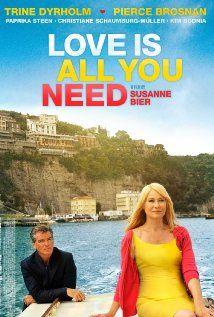 "Love Is All You Need - Den skaldede frisør  Very funny movie, a "" half danish "" comedy"