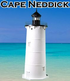 Cape Neddick Deluxe Stucco Lawn Lighthouses 2