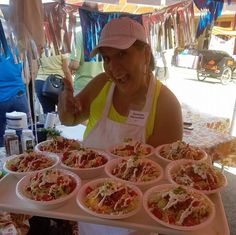 The 12th annual National Indian Taco Championship drew lots of food-lovers to Pawhuska, Oklahoma.