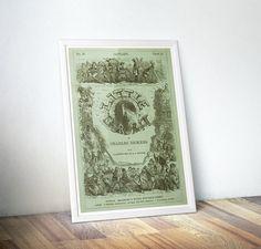 Little Dorrit Charles Dickens Bookish Gift by DareToDreamPrints