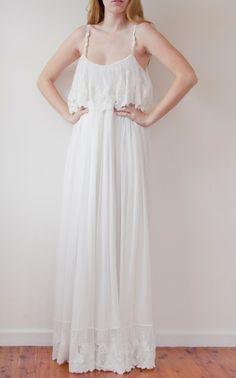 Wedding dress lace silk chiffon