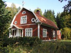swedish architecture   Found on smaland-ferienhaus.de