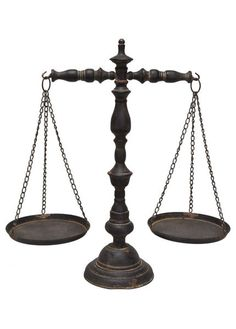 SYMBOL OF JUSTICE STAND