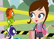 Littlest Pet Shop Pets and Blythe