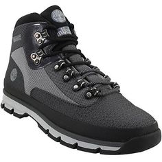 Timberland Jacquard Euro Hiker Hiking Boots - Mens Grey