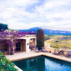 The beautiful Crillon le Brave #Provence #travel