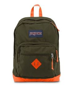 Jansport Orange Polyester Backpack - Buy Jansport Orange Polyester Backpack Online at Low Price - Snapdeal