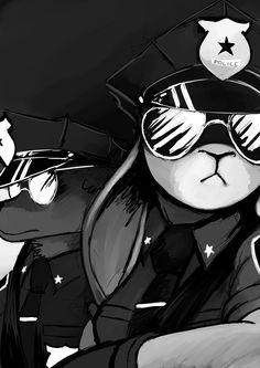 WOOP-WOOP! That's the sound of da police! Badass attitude way too high !