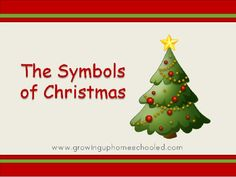 The Symbols of Christmas Powerpoint presentation - What the meaning is behind the different Christmas decorations. FREE