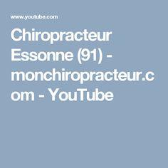 Chiropracteur Essonne (91)  - monchiropracteur.com - YouTube