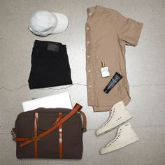 3sixteen men's outfit grid