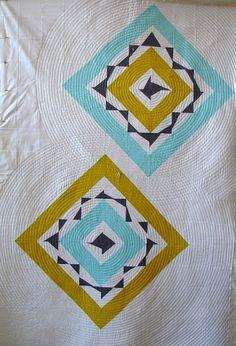 tallgrass prairie studio: Stitching and Flipping!