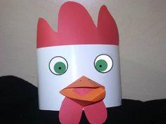Traditional Rooster Hat @ simplekidscrafts.com