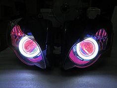 Angel Eye HID Projector Demon Eye Headlight Assembly Honda The items you ordered will be shipped out in business day by Hong Kong EMS Special Effect Contact Lenses, Hidden Projector, Honda, Demon Eyes, Halloween Contacts, Headlight Assembly, Angel Eyes, Special Effects, Scary