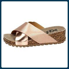 XTI ,  Damen Sandalen , rosa - nude - Größe: 36 - Zehentrenner für frauen (*Partner-Link)