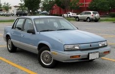 Oldsmobile Cutlass Calais Coupe Blue