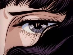 Animated gif discovered by Jana. Find images and videos about gif, aesthetic and anime on We Heart It - the app to get lost in what you love. Manga Anime, Old Anime, Anime Art, Manga Eyes, Anim Gif, Gif Animé, Aesthetic Anime, Aesthetic Art, Estilo Anime