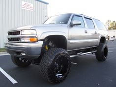 Lifted 2000 Chevy Suburban Truck For Sale Lifted Chevy Trucks, Gm Trucks, Chevrolet Trucks, Pickup Trucks, Muddy Trucks, Diesel Trucks, Lifted Tahoe, Gmc Trucks For Sale, Chevrolet Suburban