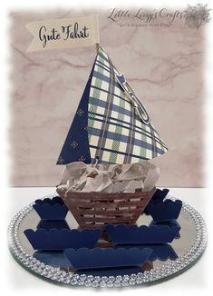 Window Box Framelits Stampin' Up! Boat