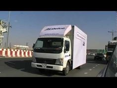 Guerrilla Marketing Example - ACDelco Interactive Moving Truck Advertise...