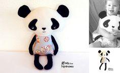 * Muñecas y Daydreams - Doll Y Softie modelos de costura del PDF: Sorteo - Patrón Panda de costura! ¡¡¡¡¡¡¡¡¡¡¡