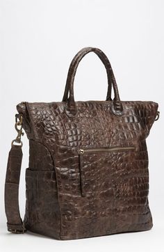 Liebeskind 'Zoe' Croc Embossed Tote available at Nordstrom
