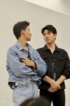 Gay Couple, Couple Posing, Cute Boys, My Boys, Kiss Me Again, People Poses, Theory Of Love, Thai Drama, Like A Boss