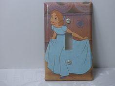 Vintage Wendy from Peter Pan  Switch Plate Nursery. $3.99, via Etsy.