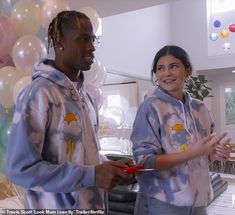 Mom and dad on tour: In the trailer for his upcoming Netflix documentary, Look Mom I Can Fly—that dropped Friday—Travis Scott is seen playing to thousands of fans and hanging with Kylie Jenner and their daughter Stormi