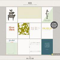 Nosh Journaling Card