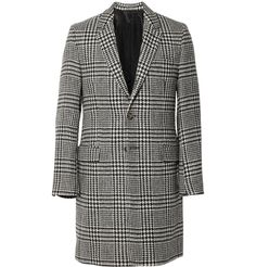 AMISlim-Fit Prince Of Wales Check Wool Coat MR PORTER
