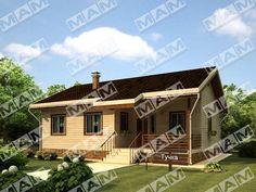 Proiect de Casa cu parter din lemn 377Proiecte de Case | Proiecte de Case