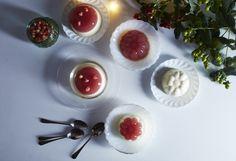 Crème fraîche panna cotta from Nourish by Jane Clarke