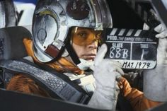 Rare behind the scenes images from the making of Star Wars.