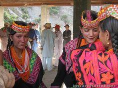 Kalash girls at festival