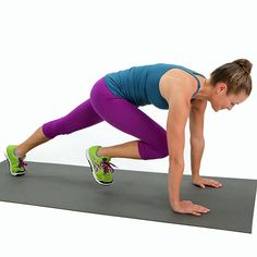 Mountain Climbers: The Move That Does It All: If you're a fan of exercises that work your body without  machines, weights, or equipment, try doing mountain climbers!