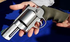 "Smith & Wesson Unveils ""Backpack Cannon"" -  .460-caliber revolver. (Sidearm while fishing in Alaska)"