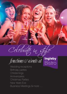 Ingleby Bistro Functions Information