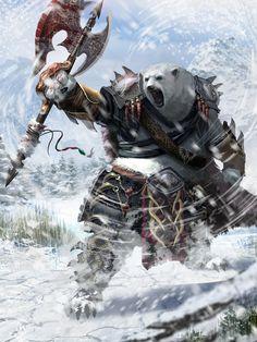 Danny_Pak_Concep_Art_Illustration_08_polar-bear-warrior.jpg 1200×1600 pixels