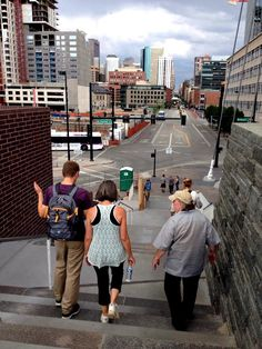 """Such a fun """"Adult Field Trip"""" in the #MileHighCity last week! 4-5 miles, rooftop cocktails, big public screen video games (#OhHeckYeah), Denver's Union Station, and so much more.."""