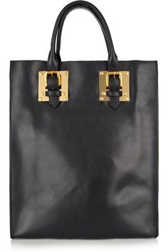 Sophie Hulme | Buckle leather tote | NET-A-PORTER.COM